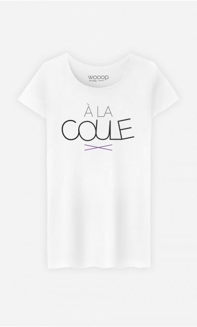 T-Shirt Femme À la Coule