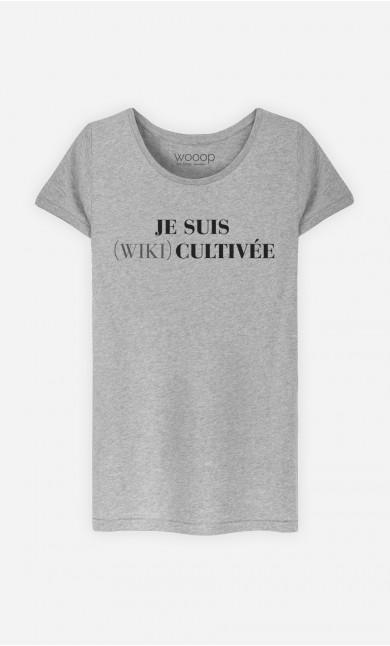 T-Shirt Je Suis Wiki Cultivée