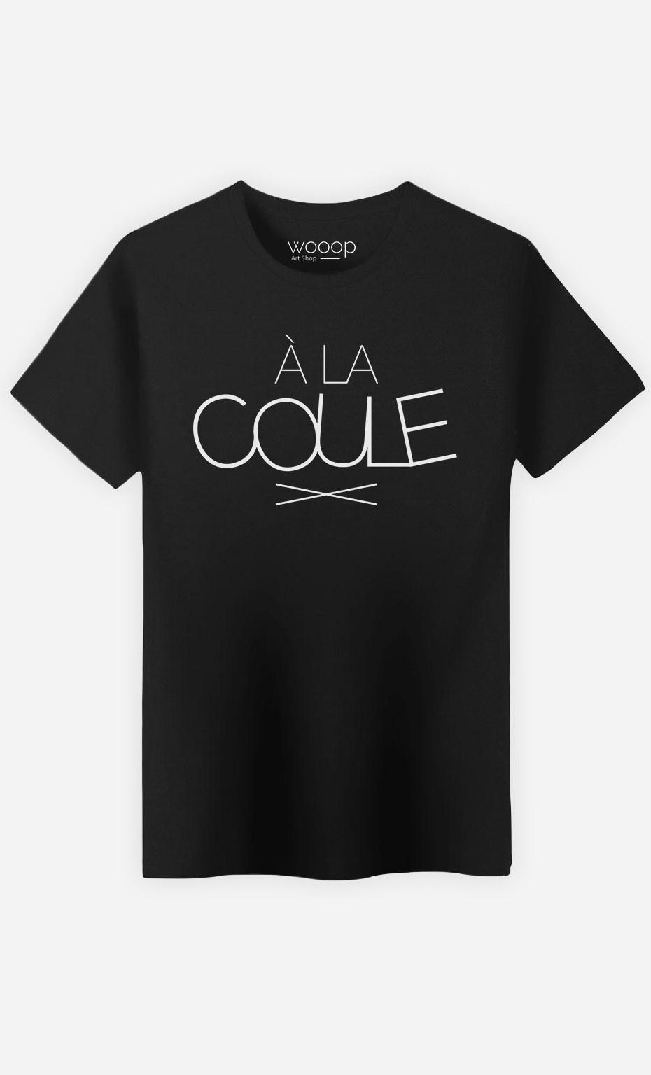 T-Shirt Homme À la Coule