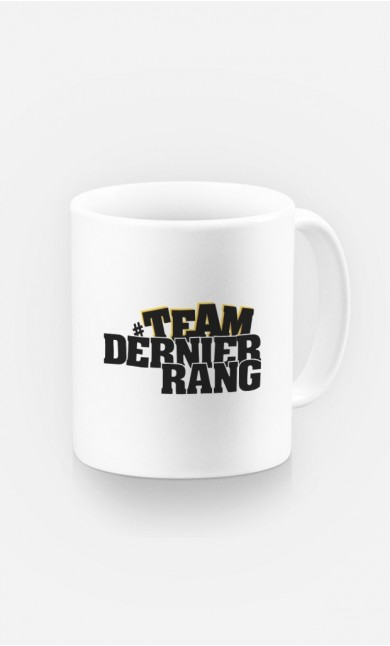 Mug Team Dernier Rang