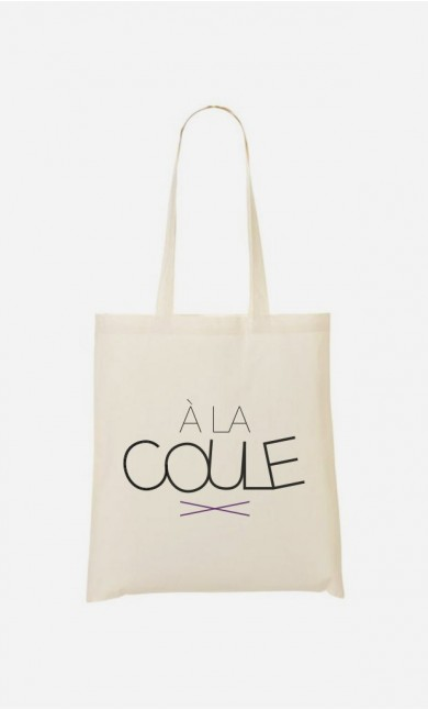 Tote Bag À la Coule