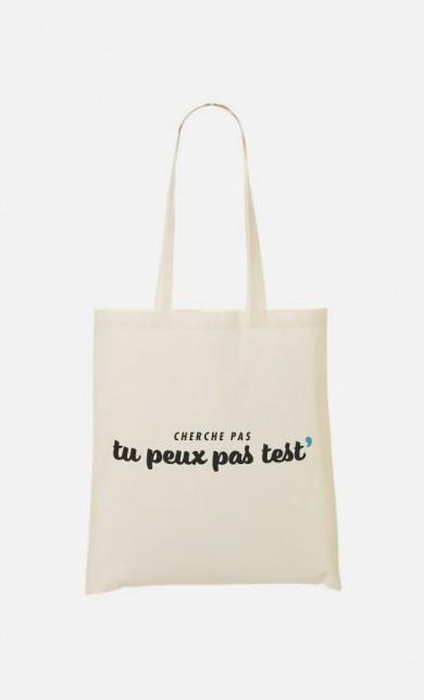 Tote Bag Tu Peux pas Test