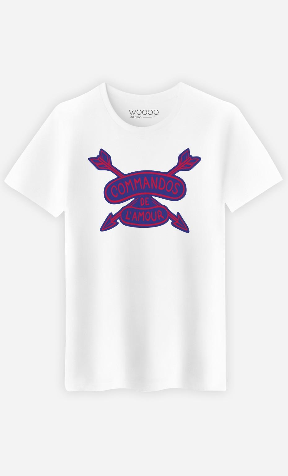 T-Shirt Commandos de l'Amour