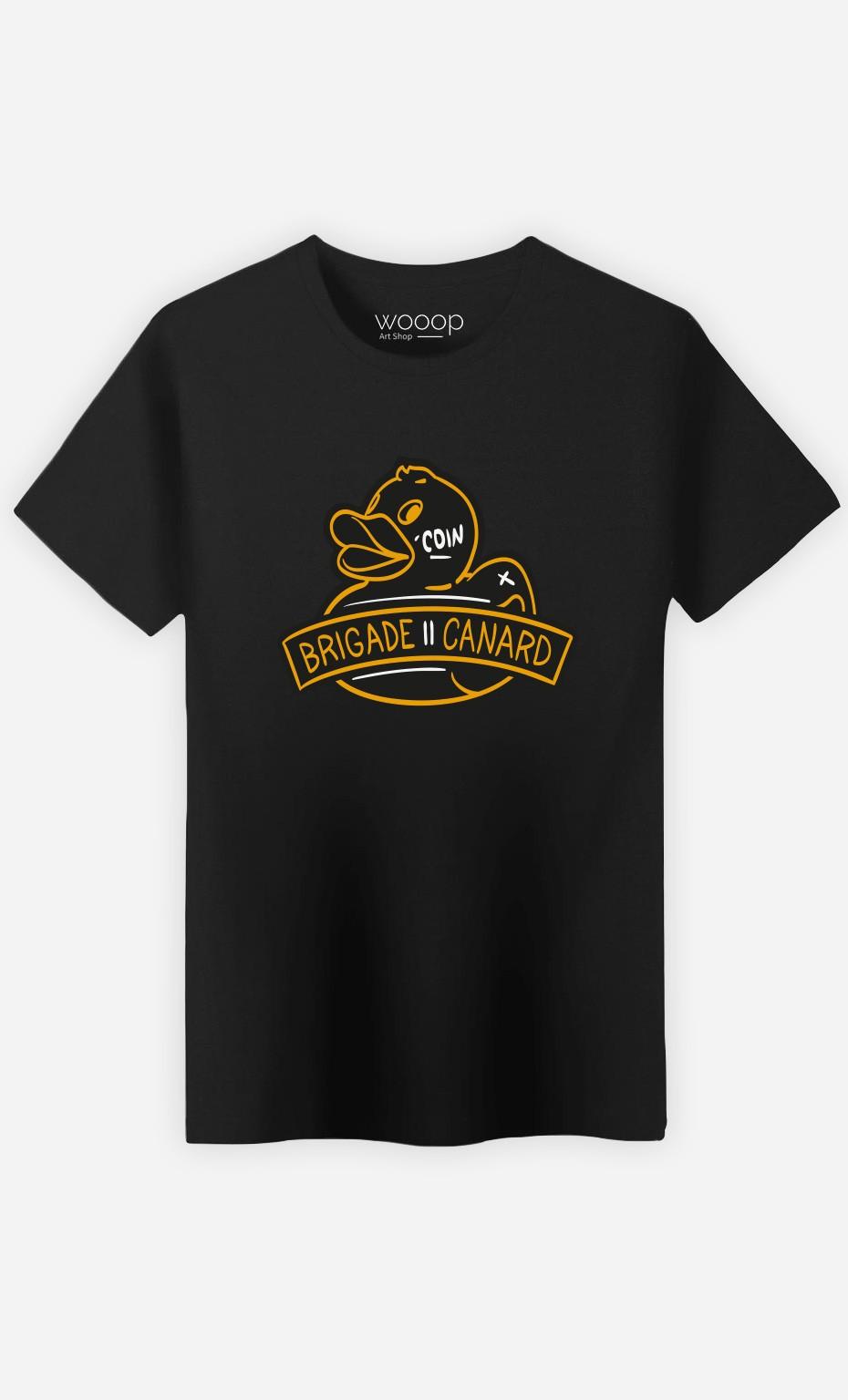 T-Shirt Homme Brigade Canard