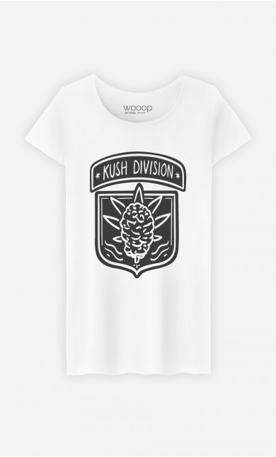 T-Shirt Femme Kush Division