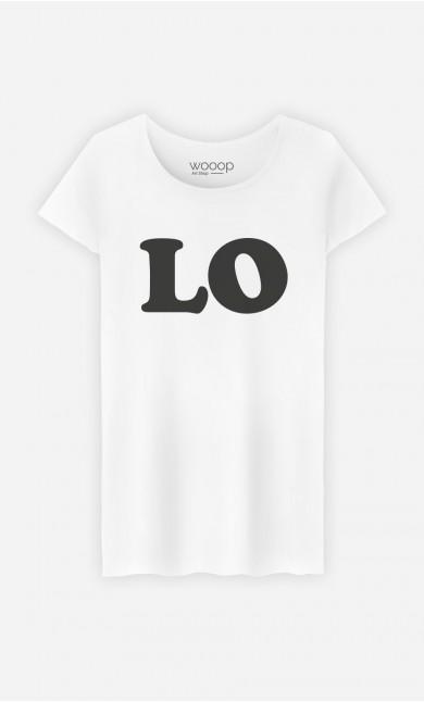 T-Shirt Femme Love Lo