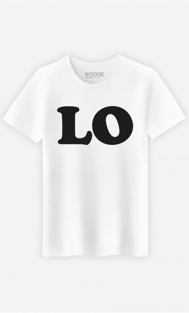 T-Shirt Homme Love Lo