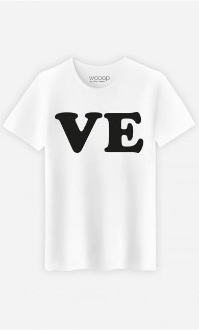 T-Shirt Homme Love Ve