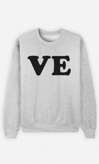 Sweat Homme Love Ve
