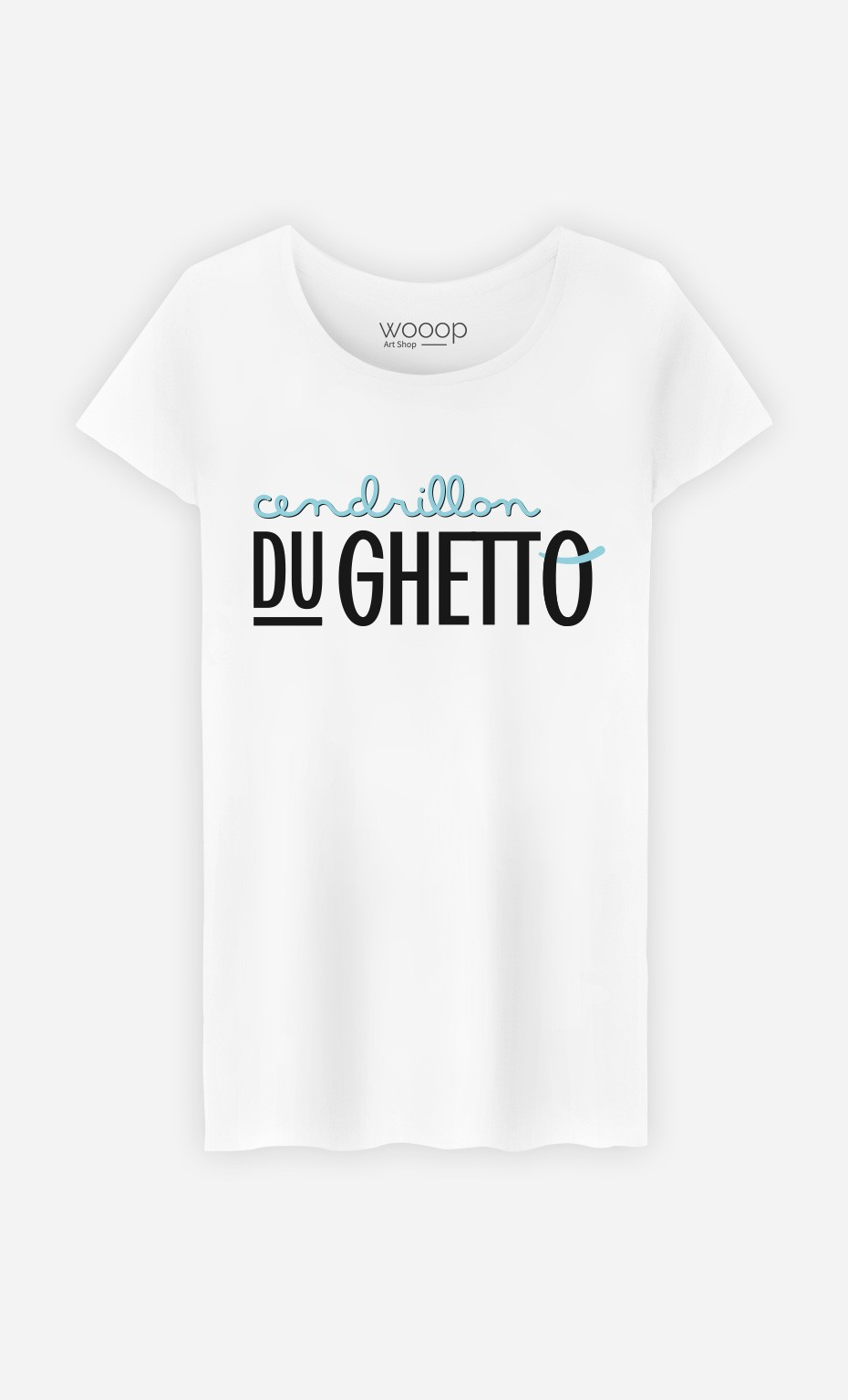 T-Shirt Cendrillon du Ghetto