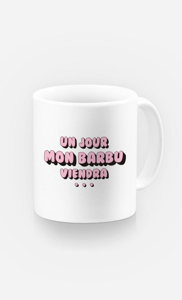 Mug Un Jour mon Barbu Viendra