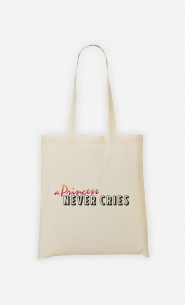 Tote Bag A Princess Never Cries