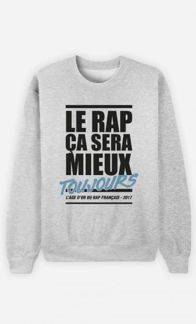 Sweat Le Rap ça Sera Mieux - Bleu