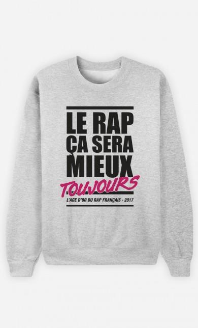 Sweat Le Rap ça Sera Mieux - Rose