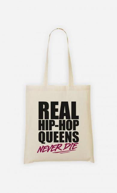Tote Bag Real Hip Hop Queens - Rose