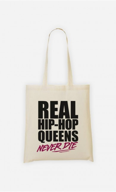 Tote Bag Real Hip Hop Queens - Rose