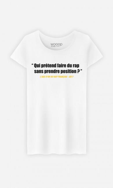 T-Shirt Faire du Rap Prendre Position