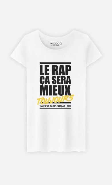 T-Shirt Le Rap ça Sera Mieux - Or