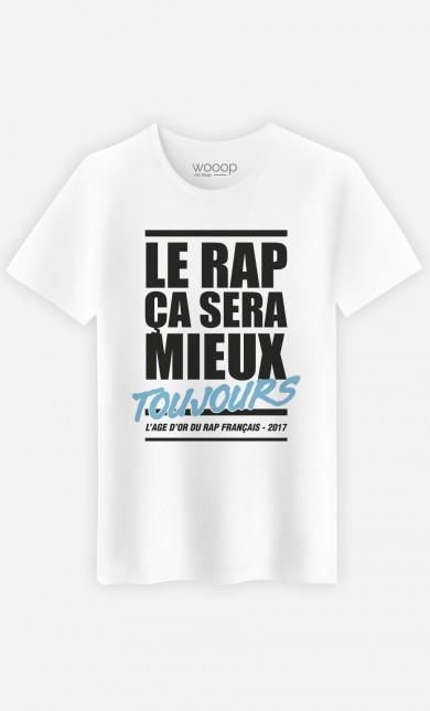 T-Shirt Le Rap ça Sera Mieux - Bleu