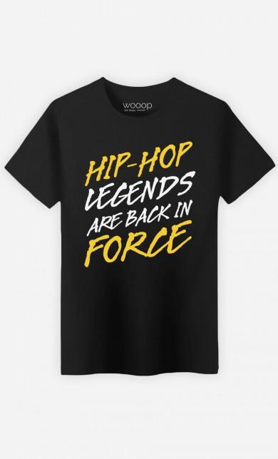 T-Shirt Hip Hop Legends are Back