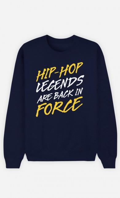 Sweat Bleu Hip Hop Legends are Back