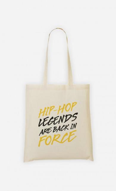 Tote Bag Hip Hop Legends are Back