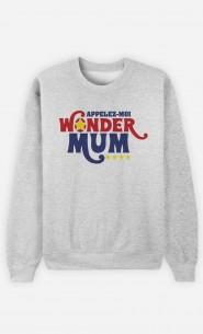 Sweat Appelez-Moi Wonder Mum