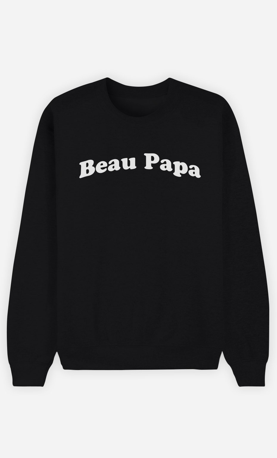 Sweat Noir Beau Papa