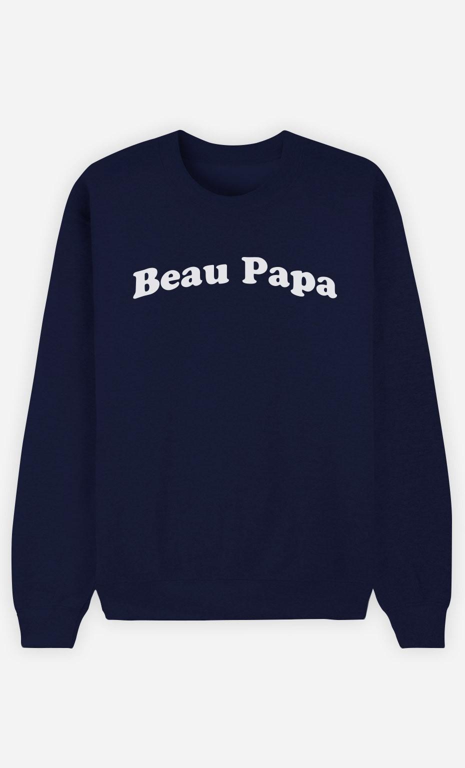 Sweat Bleu Beau Papa