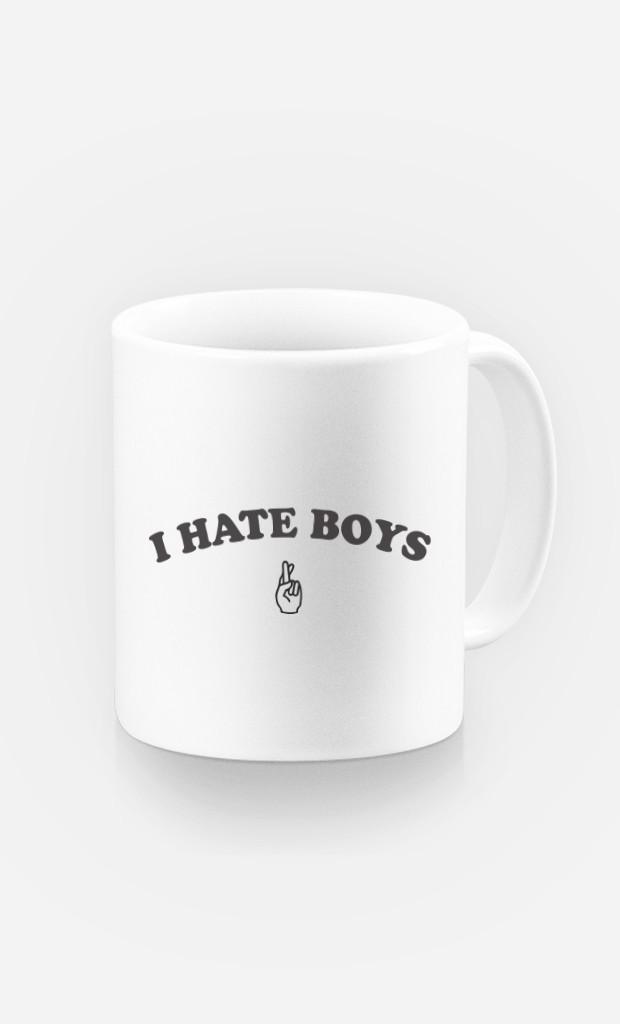 Mug I hate boys