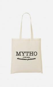 Tote Bag Mytho c'est mon deuxième prénom