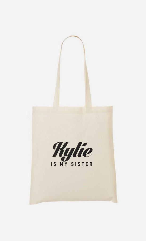 Tote Bag Kylie is my sister