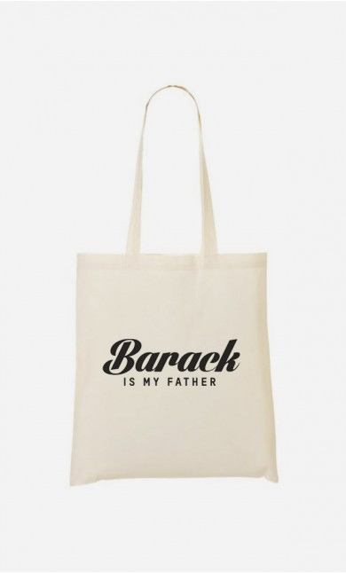 Tote Bag Barack is my father