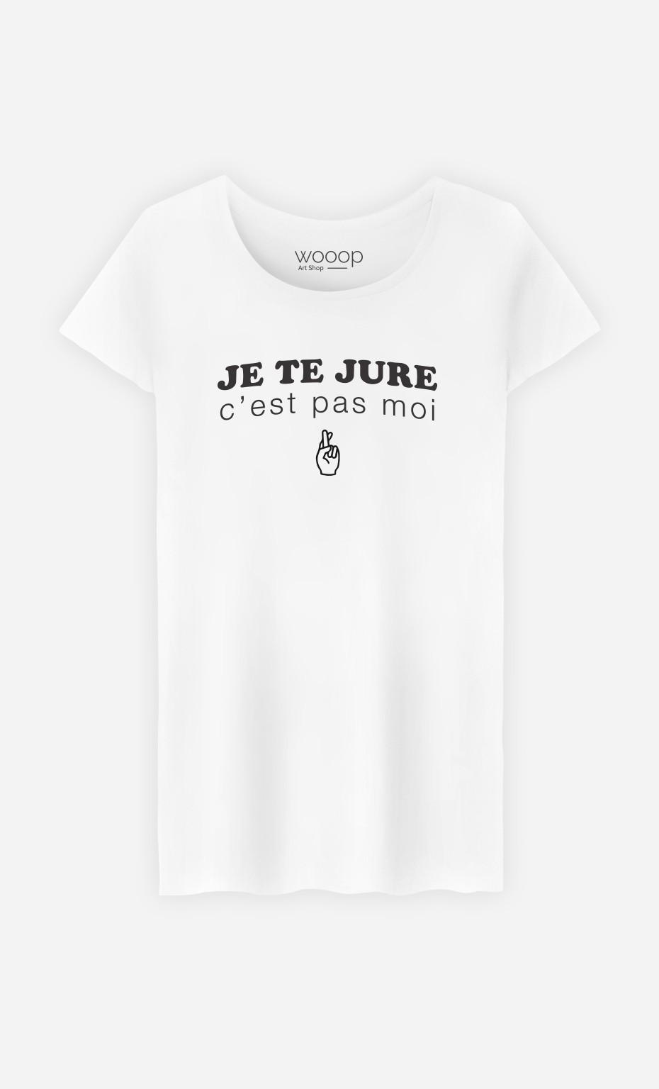T-Shirt Je te jure c'est pas moi