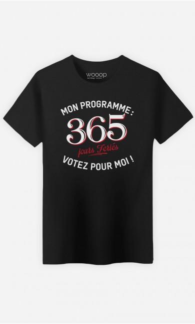 T-Shirt Votez Pour Moi