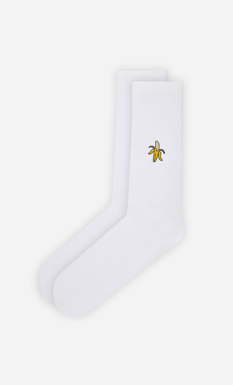 Chaussettes Blanches Banana