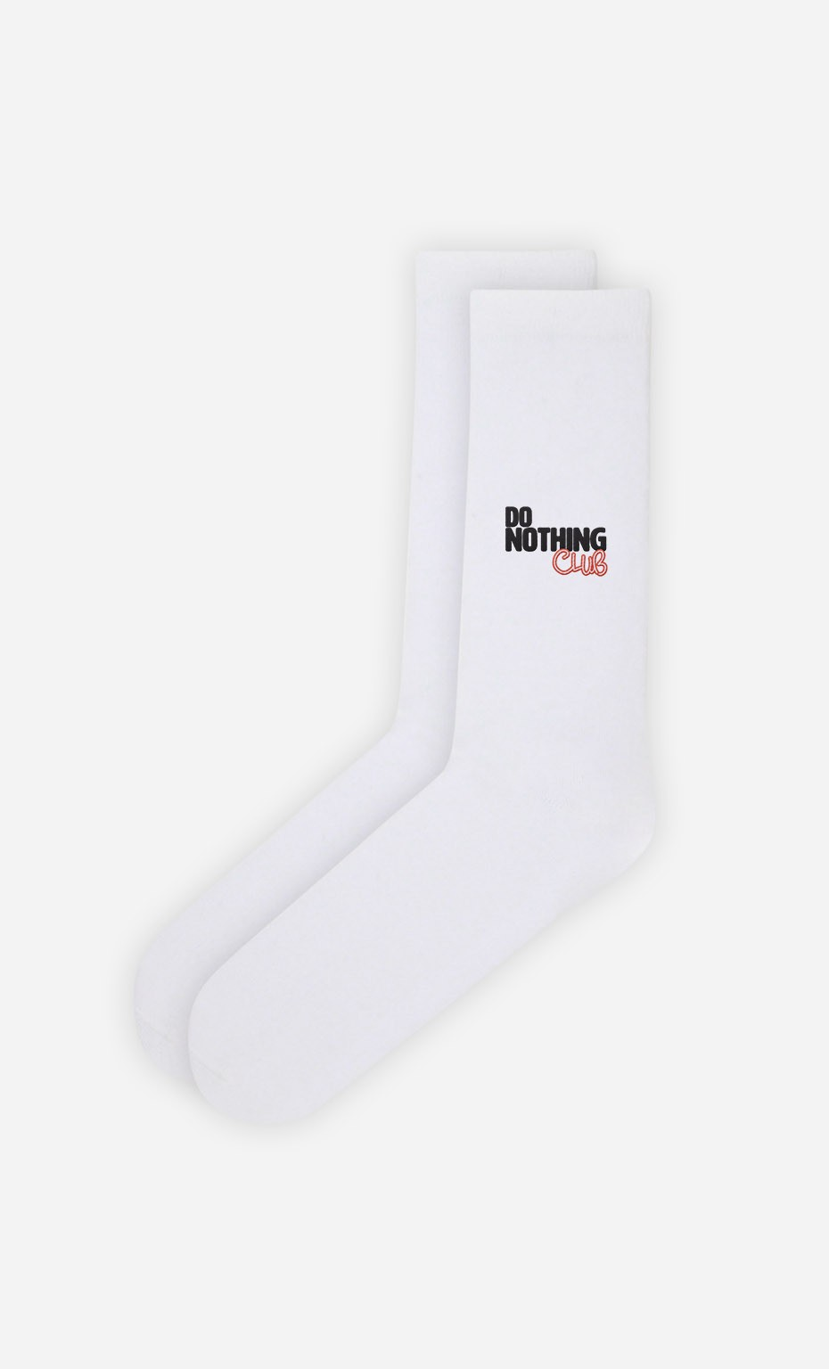Chaussettes Blanches Do Nothing Club