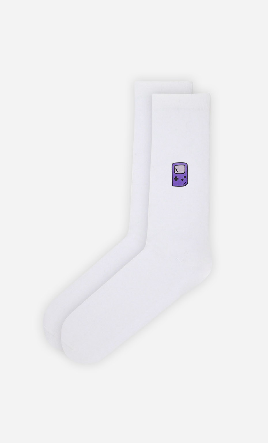 Chaussettes Blanches Retro Gaming