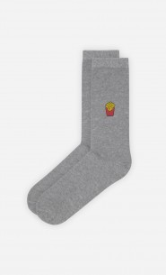 Chaussettes Grises French Fries