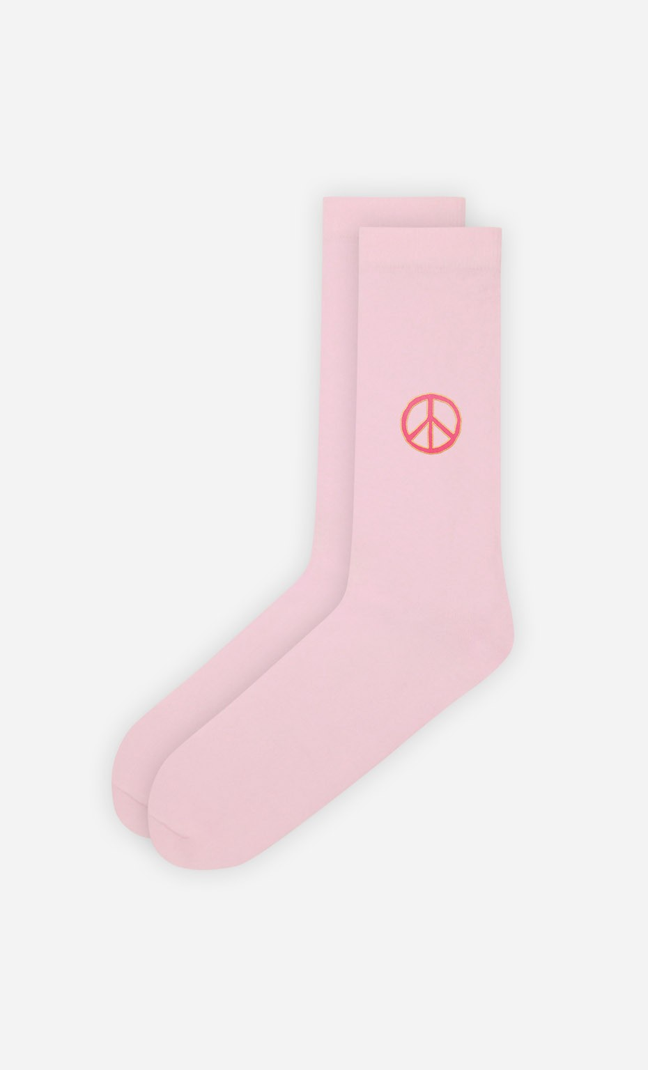 Chaussettes Roses Peace and love