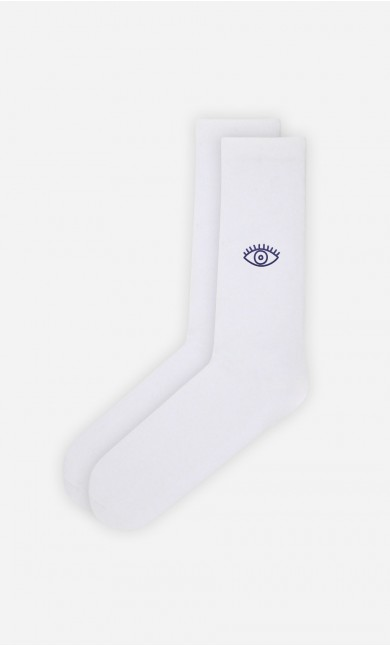 Chaussettes Blanches The Eye - Duo