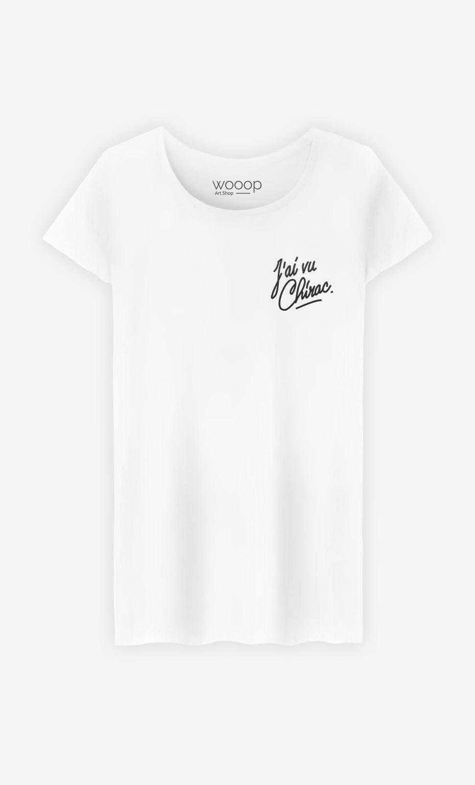 T-Shirt J'ai vu Chirac