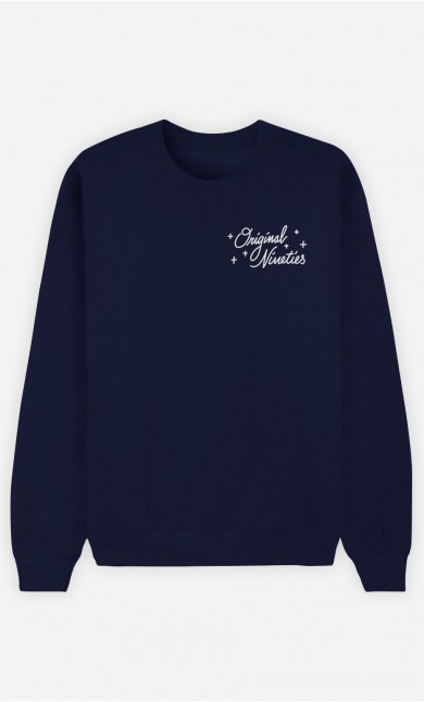 Sweat Bleu Original Nineties