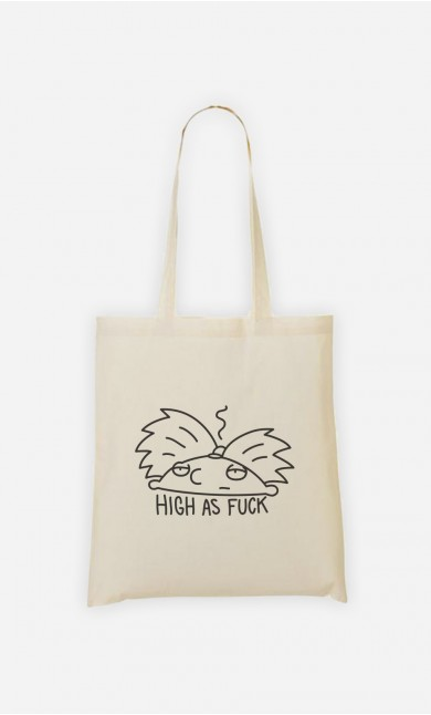 Tote Bag High as fuck