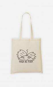 Tote Bag High as fuck
