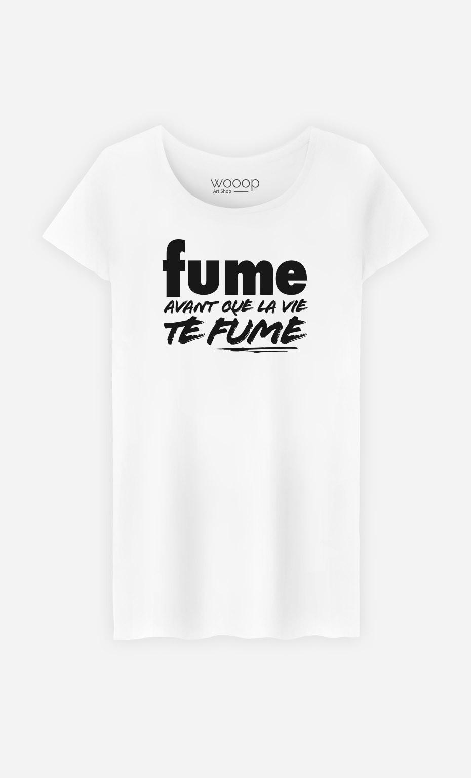 T-Shirt Fume Avant que la Vie te Fume