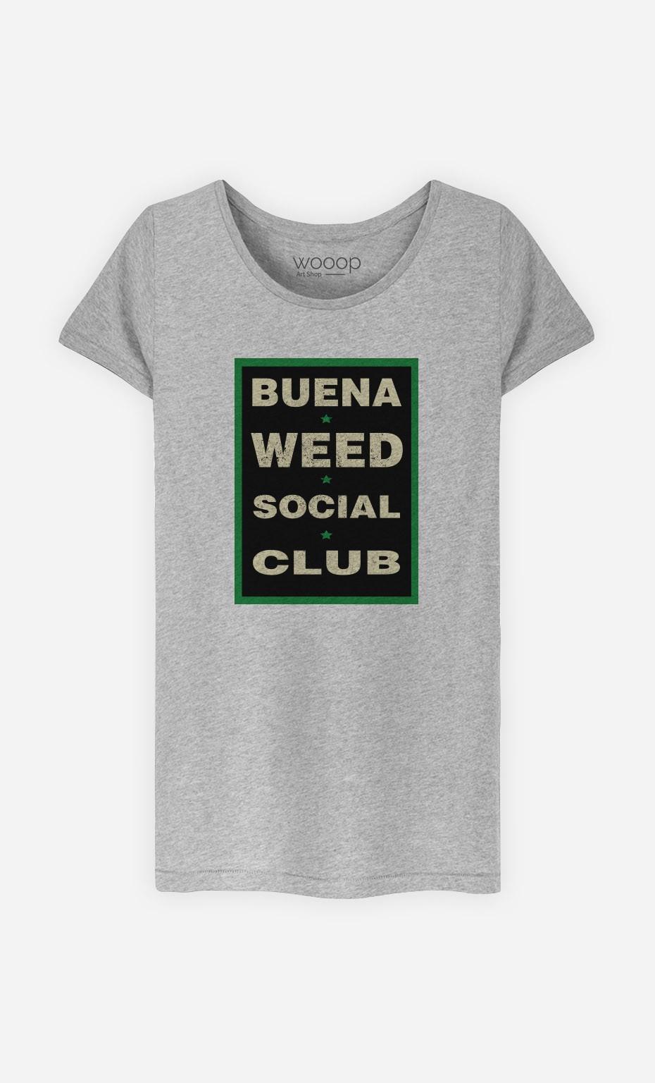 T-Shirt Buena Weed Social Club