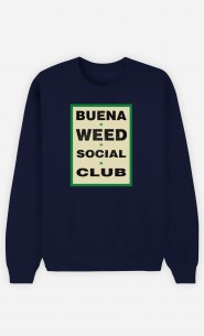 Sweat Bleu Buena Weed Social Club