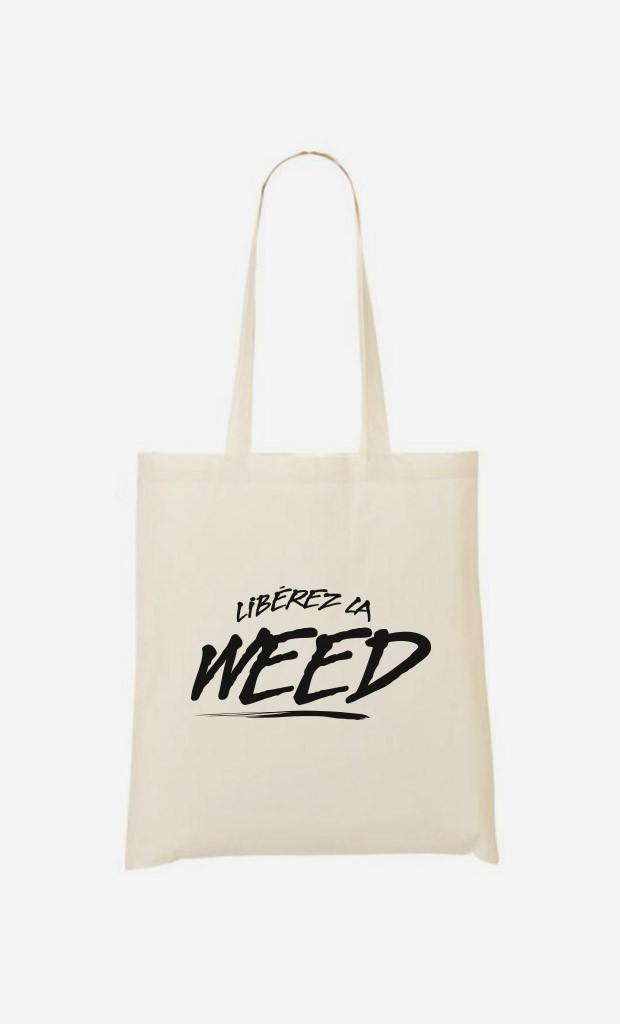 Tote Bag Libérez la Weed