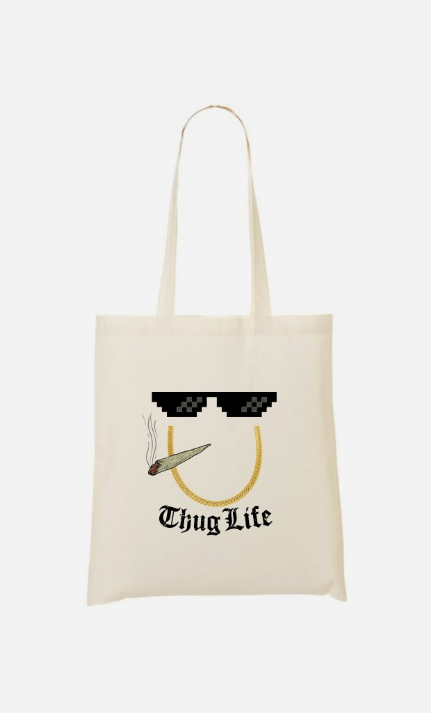 Tote Bag Smoke Thug Life